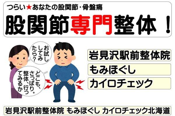 股関節痛【岩見沢】